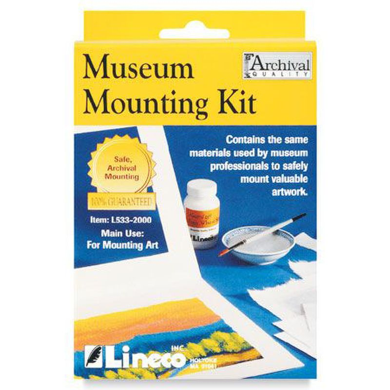 AC403188 - ACID FREE MUSEUM MOUNTING KIT