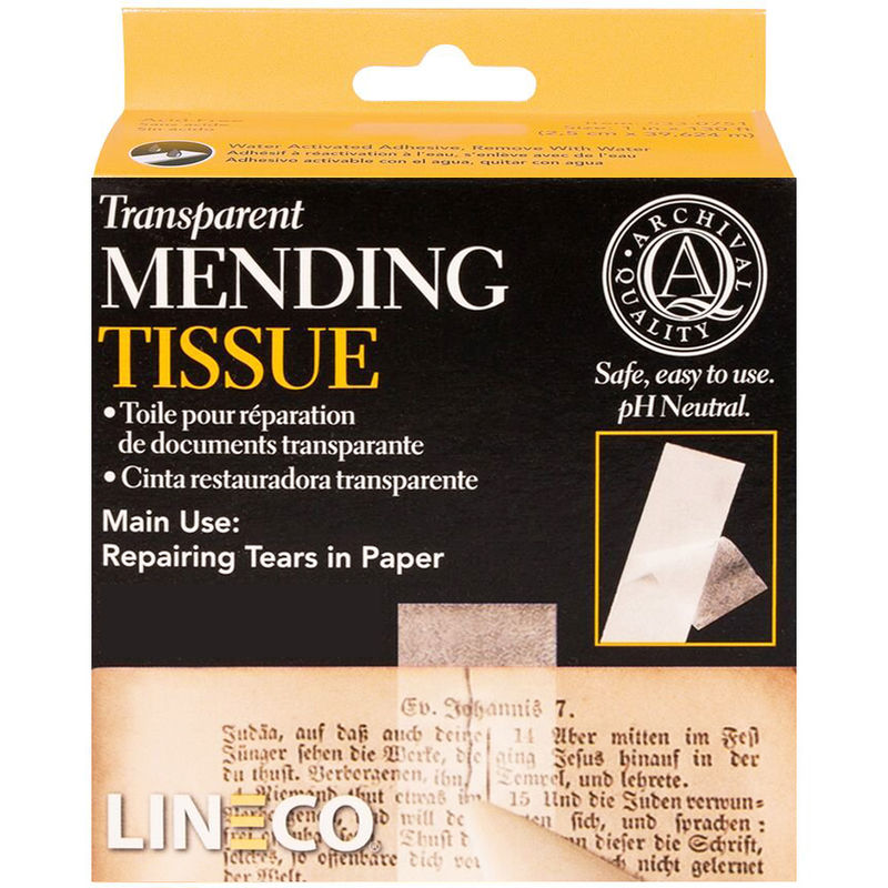 AC403191 - ACID FREE TRANSPARENT MENDING TISSUE ½""
